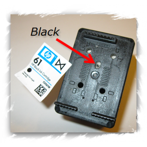 HP 61XL Black Refill Kits 4-5 times save $$$