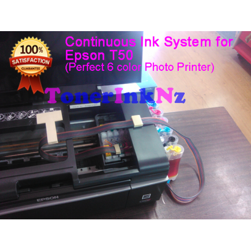 Epson T50 Comp Ciss With Sublimation Ink