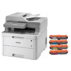 Brother DCPL3551CDW A4 18ppm Duplex Wireless Multifunction Colour Laser Printer + $150 Cashback!