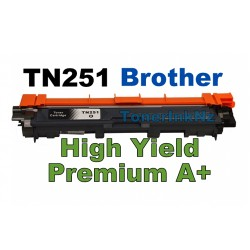 Brother TN251BK Black High Yield Toner Cartridge Free Ship