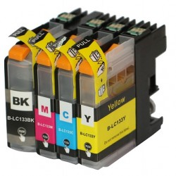 Brother LC131K Black ink Cartridges Higher Yield