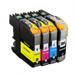 Brother LC233 ink Cartridge BK+C+M+Y