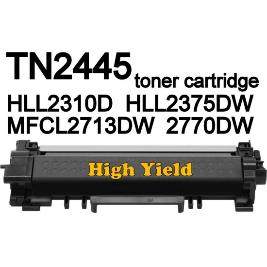 Brother TN2445 Toner Cartridge for MFCL2713dw HLL2310D HLL2375DW