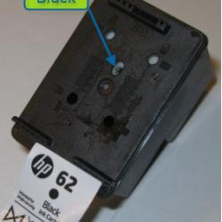 HP 62 HP 62XL  Black Refill Kits 6-10 times save $$$