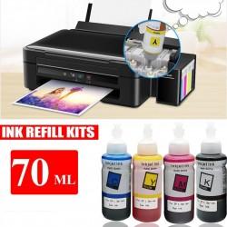Epson T664 Ink Refill 70ml Tonerink Brand