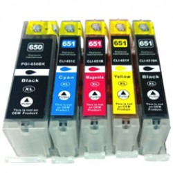 Canon PGi650 CLi651 XL Ink Cartridge Whole Set