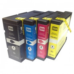 Canon PGi2600 XL Ink Cartridge Compatible BK/C/M/Y for MB5060/5160/5360/5460