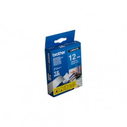 Brother 12mm White Text On Blue Tape - 8 metres Tonerink Brand Tonerink Brand