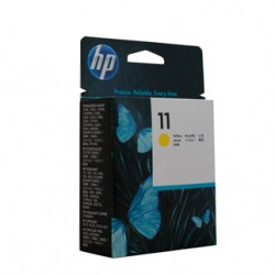 HP 11 Yellow Ink Cartridge (29ml) - 1,830 pages