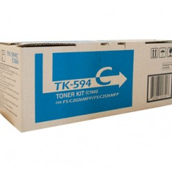 Kyocera FS-C2126MFP / 2026MFP Cyan Toner Cartridge - 5,000 pages