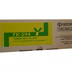 Kyocera FS-C2126MFP / 2026MFP Yellow Toner Cartridge - 5,000 pages