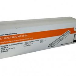 Oki C110/130N Black Toner Cartridge - 2,500 pages