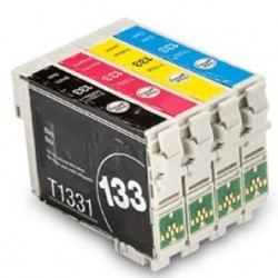 EPSON 133 Ink T133 XL Ink Cart Comp. full set