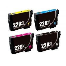 Epson  WF2760 Ink Cartridge 220 XL 220XL Ink Cartridge Compatible