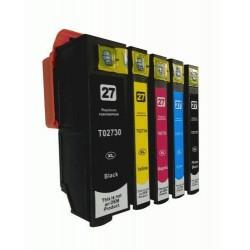 Epson 273 273XL Ink Compatible BK+PBK+C+M+Y
