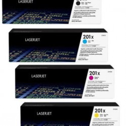 HP 201X CF400X+CF401X+CF402X+CF403X Toner Cartridge Full Set