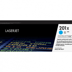 HP 201X CF401X Cyan Toner Cartridge