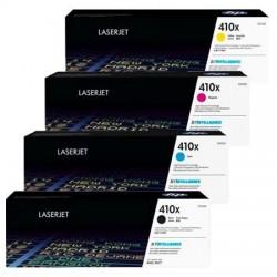 HP 410X CF410X+CF411X+CF412X+CF413X High Yield Full Set Toner Cartridge