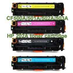 HP 202A CF500A Toner Cartridge  Tonerink Brand