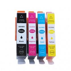 HP 905 Black / HP905XL High Yield C/M/Y Ink Cartridge