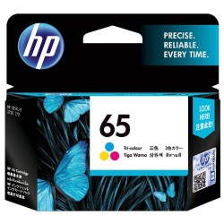 Genuine HP 65 Colour ink cartridge N9K01AA