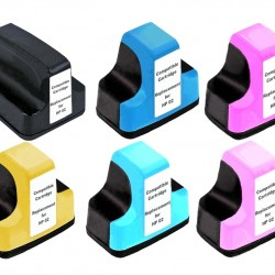 HP 02 XL Ink Cartridge Compatible x6