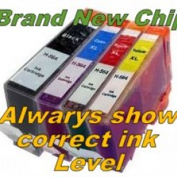 HP 564XL Ink Cartridge BK+C+Y+M Compatible Tonerink Brand