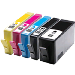 HP 564XL Ink Cartridge BK+PBK+C+Y+M  Compatible