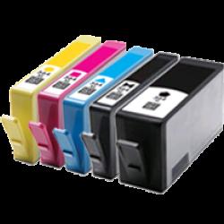 HP 564XL Ink Cartridge BK+PBK+C+Y+M  Compatible