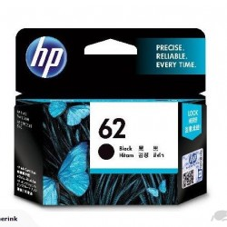 Genuine HP 62 Black Ink Cartridge
