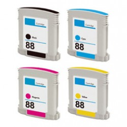 HP 88XL BK+C+M+Y 69/28ml Ink Cartridge Whole Set
