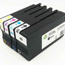 Compatible HP 955XL Ink Cartridge BK+C+M+Y Tonerink Brand
