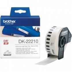 Brother Label Tape DK-22210 29mm x 30.48m Tonerink Brand